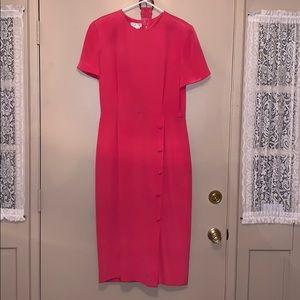 Vintage Talbots Pink Dress